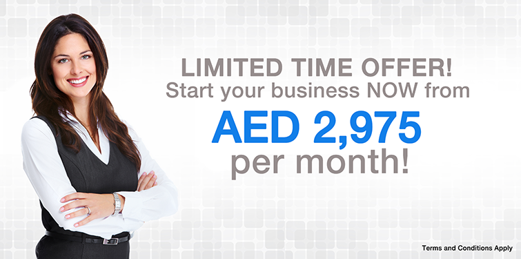 Start your business now from AED 2,975 per month